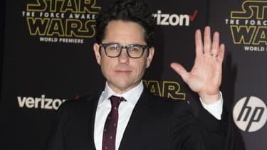 """J.J. Abrams à la première de """"Star Wars VII: le Réveil de la Force"""" en 2015"""