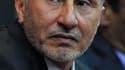 Le président du Conseil national de transition (CNT) libyen Mustafa Abdeljalil. Le CNT a exhorté mardi la communauté internationale à faire preuve de fermeté face au régime de Mouammar Kadhafi et à fournir des armes à la rébellion. /Photo prise le 11 avri