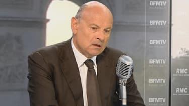 Jean-Marie Le Guen sur le plateau de BFMTV, le 10 septembre 2014.