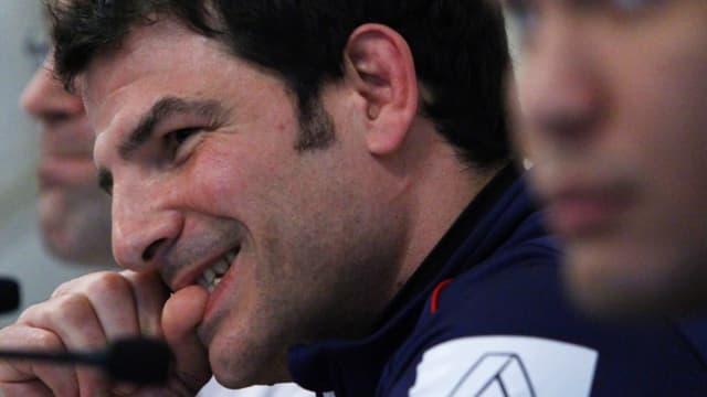 Le sélectionneur français veut remettre ses joueurs sur pieds