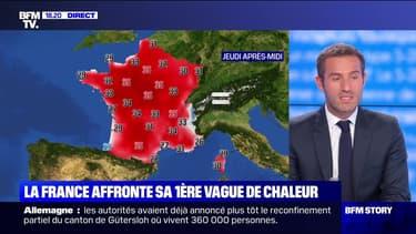 Story 5 : La France affronte sa première vague de chaleur - 23/06