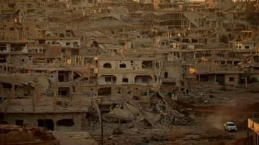 Daraa, ville dans le sud de la Syrie