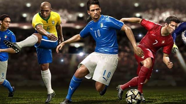 De gauche à droite : Inzaghi, Roberto Carlos, Baggio, Figo et Kahn.