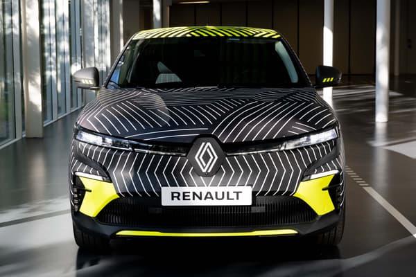 Cette nouvelle Mégane électrique sera commercialisée début 2022.