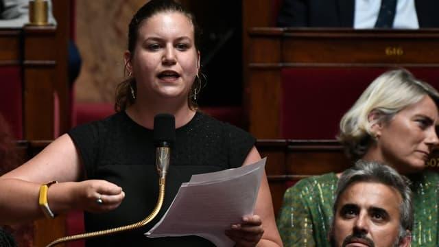 Mathilde Panot à l'Assemblée nationale