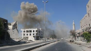 Les combattants de l'Etat islamique sont à la tête de trois aéroports syriens situés dans la province d'Alep.