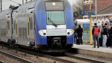 Un TER (Photo d'illustration). - Philippe Huguen - AFP