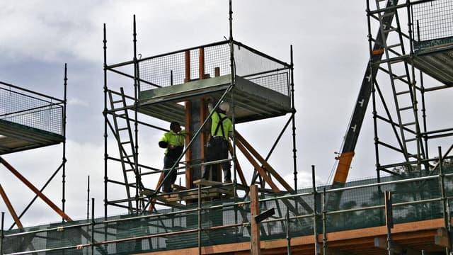 La construction subit une baisse d'activité