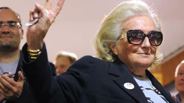 Bernadette Chirac n'était pas candidate mais malgré son retrait elle s'est impliquée auprès des candidats d'opposition en Corrèze