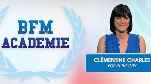 Clémentine Charles a fondé Pop in the City en 2012.