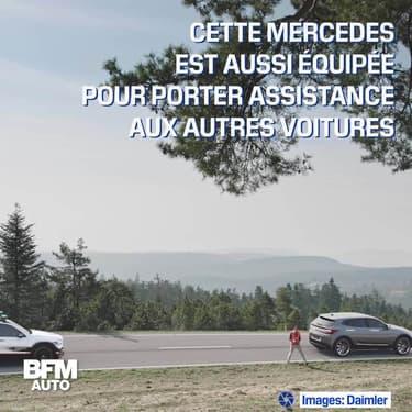 Ce concept Mercedes imagine la sécurité automobile de demain