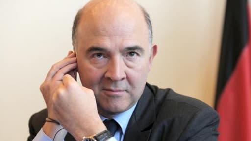 """Pierre Moscovici indique qu'il """"sera vigilant"""" sur les choix retenus par l'exécutif européen."""