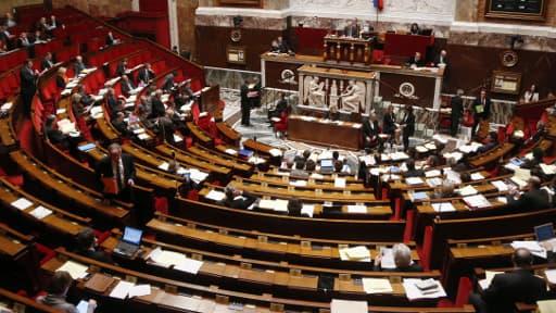 L'hémicycle de l'Assemblée nationale, où a été voté mardi le projet de loi sur l'enseignement supérieur (photo d'illustration).
