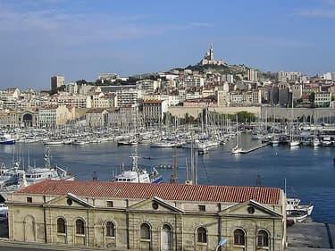 Le quartier du Vieux Port à Marseille