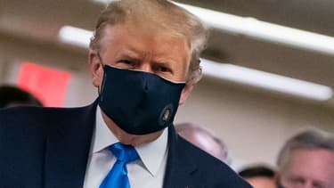Donald Trump le 11 juillet 2020