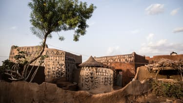 Une maison traditionnelle au Burkina Faso. (Photo d'illustration)