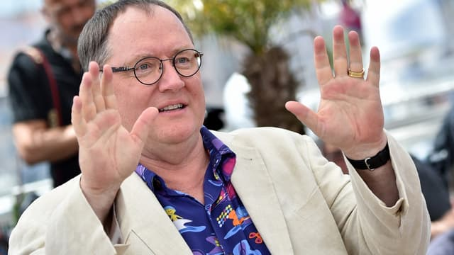 John Lasseter, le 18 mai 2015