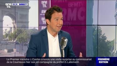 """Selon Guillaume Peltier (LR), le bilan d'Emmanuel Macron est """"exécrable"""""""