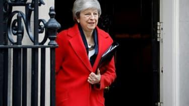 La Première ministre britannique Theresa May, le 26 février 2019 à Londres