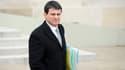 Manuel Valls le 22 janvier à la sortie du conseil des ministres.