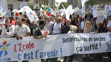 Des manifestations sont prévues dans les grandes villes tandis qu'à Paris un cortège s'élancera ce lundi à 14H00 pour rallier le ministère.