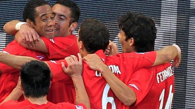 L'attaquant chilien Jean Beausejour a marqué le seul but de la rencontre