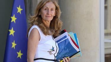 Nicole Belloubet à la sortie du conseil des ministres, le 27 juin 2018.