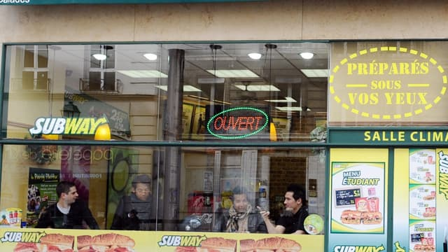 Subway compte près de 500 restaurants en France.
