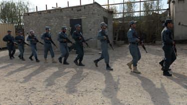 police afghane. (Photo d'illustration)