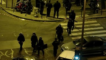 Un important périmètre de sécurité a été déployé autour des différents points des attaques.