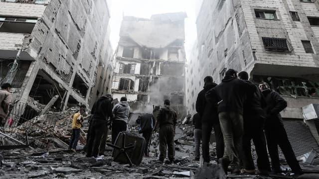 La ville de Gaza, le 13 novembre.