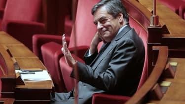 François Fillon à l'Assemblée nationale le 20 octobre 2015.