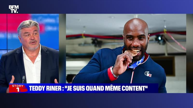 """Story 6 : Teddy Riner: """"Je suis quand même content"""" - 30/07"""