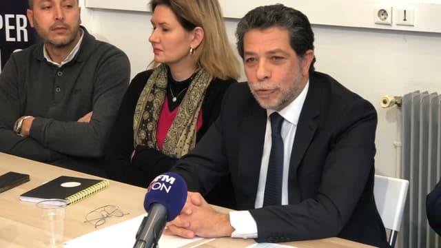 Prosper Kabalo, candidat LaREM à Villeurbanne.