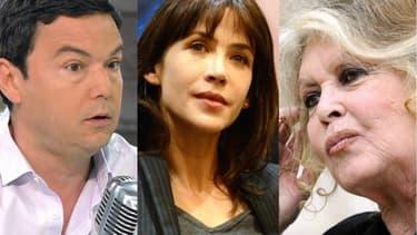 Thomas Piketty, Brigitte Bardot et Sophie Marceau en font partie.