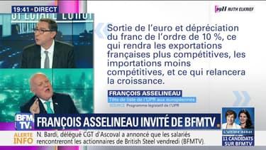 Spéciale Européennes: François Asselineau est l'invité de BFMTV