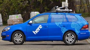 Nokia, comme Google, a sillonné la planète avec ses propres voitures pour effectuer des relevés et enrichir son fonds cartographique