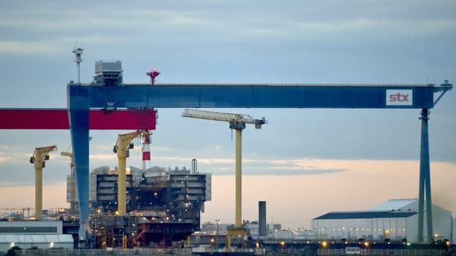L'État français détient déjà 33% du capital des chantiers de Saint-Nazaire