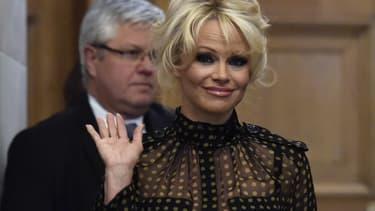 Pamela Anderson, le 19 janvier 2016