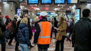 La gare de Lyon-Part Dieu
