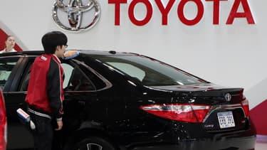 Toyota est impacté par difficultés de l'un de ses fournisseurs.