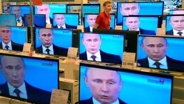 Les Russes craignent de voir les produits importés comme les téléviseurs devenir hors de prix