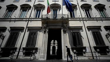 Le Palazzo Chigi, résidence du Premier ministre italien