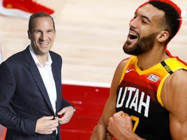 """All-Star Game NBA : """"Gobert reçoit la meilleure des reconnaissances : le vote des coaches"""" félicite Brun"""