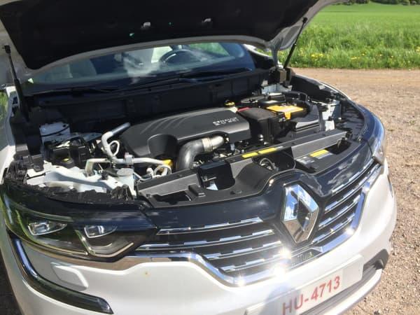 Le bloc 2.0 dCi 175 chevaux du Renault Koleos