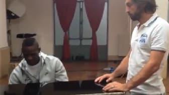 Mario Balotelli-Andrea Pirlo
