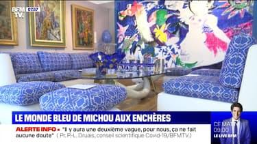 Le monde bleu de Michou aux enchères - 09/07