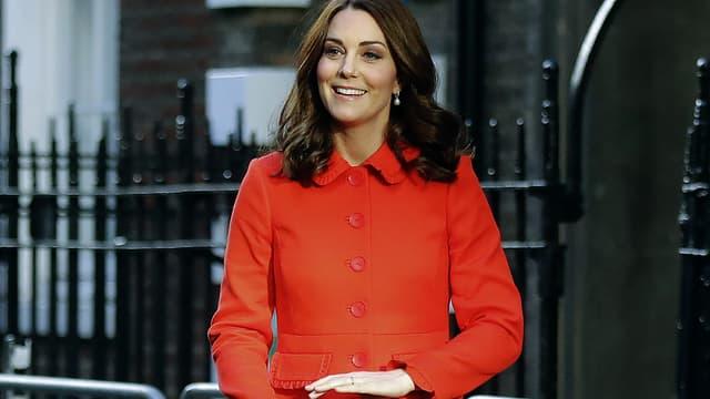 Kate Middleton à Londres le 17 janvier 2018