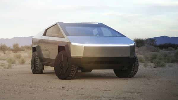 Le véhicule adopte un design très original avec des lignes très marquées,.