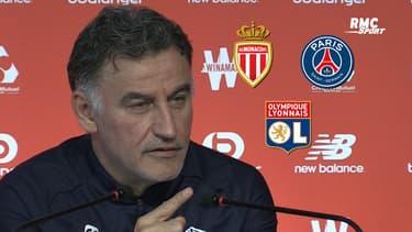 """Ligue 1 : Galtier """"impressionné"""" par Monaco (mais se méfie aussi du PSG et de Lyon)"""